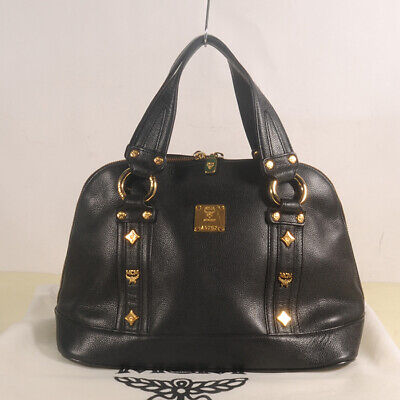 MCM Leather Tote Bag Authentic + Dust Bag