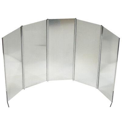 Lichtgewicht Camping Gasfornuis Cooker Windshield Screen Folding Wind Screen Fol