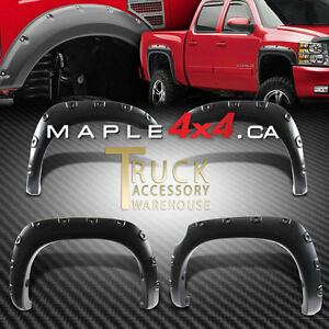 2009-2014 Ford F-150 4pcs Pocket-Riveted Textured Fender Flares Downtown-West End Greater Vancouver Area image 2