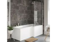 SAPPHIRE Shower Enclosures LShaped RH