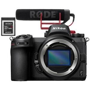 Nikon Z7 Mirrorless Camera Body + BUNDLE