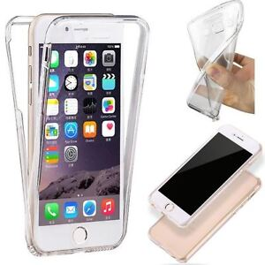 FUNDA-TAPA-DELANTERA-FLIP-GEL-DOBLE-CASE-IPHONE-8-TPU-TRANSPARENTE-ANTICHOC-360