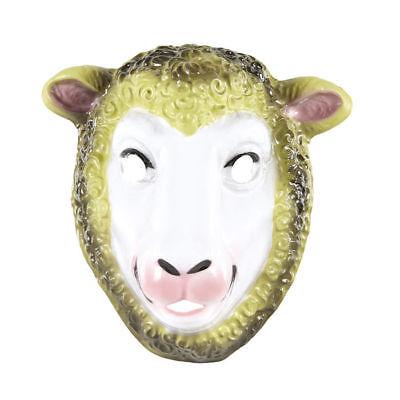 Plastik, Kindergröße Schafsmaske    (Maske Schafe)
