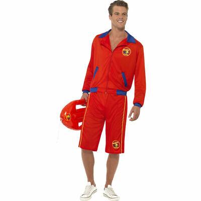 Kostüm Baywatch Rettungsschwimmer, rot, Wasser Beach Strand Boje    (Rettungsschwimmer Boje Kostüm)