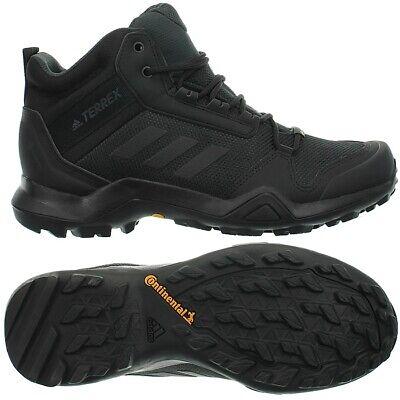 Adidas Terrex AX3 Mid GTX schwarz Herren Gore-Tex Trekking Outdoor Wanderschuhe