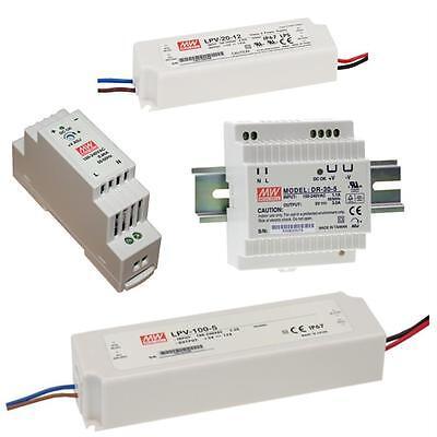 MeanWell LED-Netzteile / DR- / LPV- / Schaltnetzteile 5V 12V 15V 24V 36V 48V