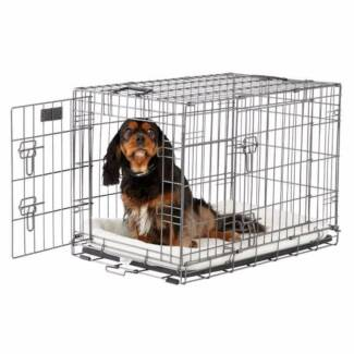 You & Me 2-Door Dog Training Crate 800 Series
