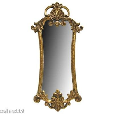 Old-fashioned Gold Accent Wall Mirror Home Decor Shabby Chic Ornate Gold Design XXL