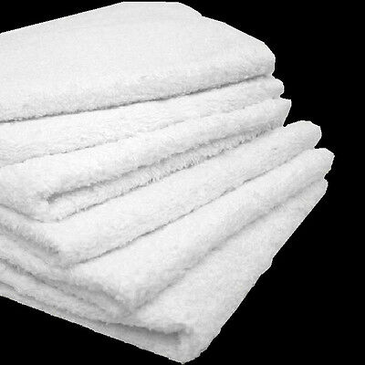 Heavy Duty Terry Cloth - 4# box cotton terry cloth cleaning towels shop rags 12x12 heavy duty commercial