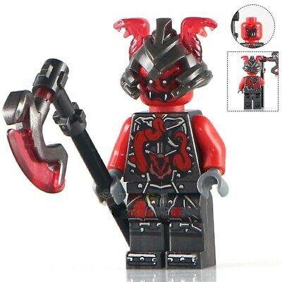 Ninjago Ash Master Neuro Vermin Wei Kai Wu Snake Custom Lego Mini Figure Ninja
