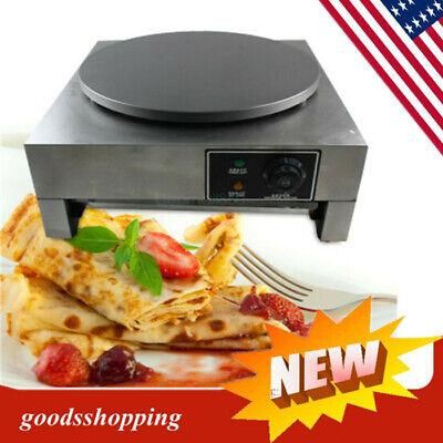 Commercial Nonstick Electric 16 40cm Crepe Maker Pancake Machine Baker