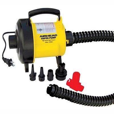 AIRHEAD Super High Volume 120V Air Pump ALL Tubes Towables M