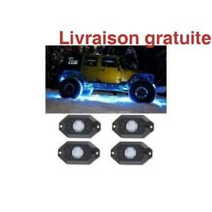 4 lumieres multicouleurs / Multicolor ROCK 4 Light Kit