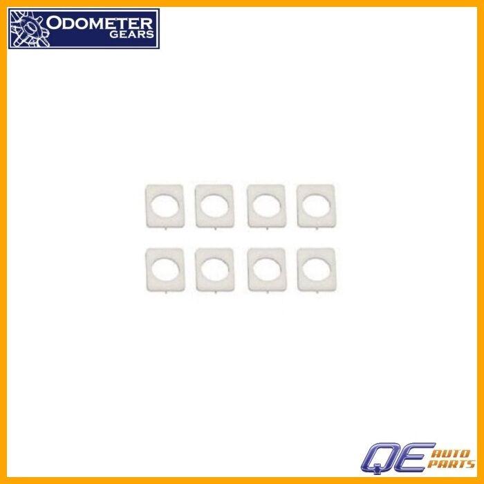 BMW Z3 Odometer Gears Ltd Seat Rail Bushing Kit - White Acetal Resin (Delrin)