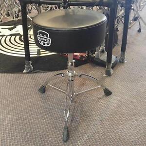 Mapex drum throne/banc/siège, pattes doubles - usagé/used