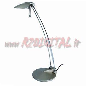 Lampada con piantana braccio snodabile pieghevole da for Lampada scrivania ufficio