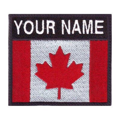 Canada Personalized Badge Embroidered (Personalization Canada)