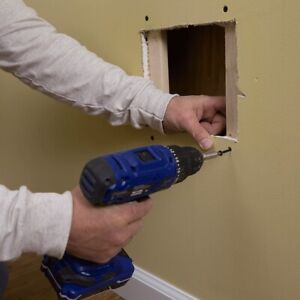 PRO DRYWALL REPAIRS- Patch Holes& Paint  + Water Damage Leak.
