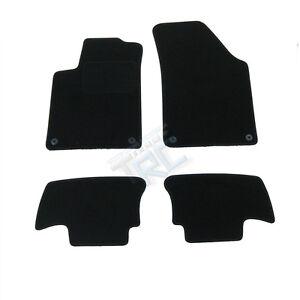 4 tapis sol moquette noir sur mesure peugeot rcz 1 6 thp 2 0 hdi magnetic ebay