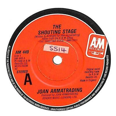 """Joan Armatrading - The Shouting Stage - 7"""" Record Single"""