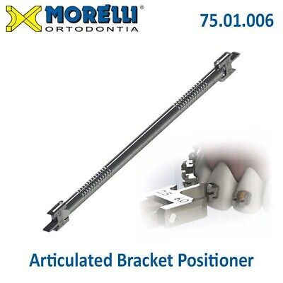 Morelli Dental Orthodontic Articulated Gauge Bracket Positioner Double Sided