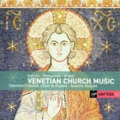 A./TAVENER CONS.+CHOR PARROT - VENETIAN CHURCH+SECULAR MUS. VIVALDI UVM 2 CD NEW