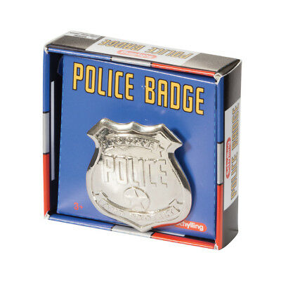 Schylling Toys Police Badge #PDB  Pretend, Imaginative, Role Play, Tin (Police Badge Toy)