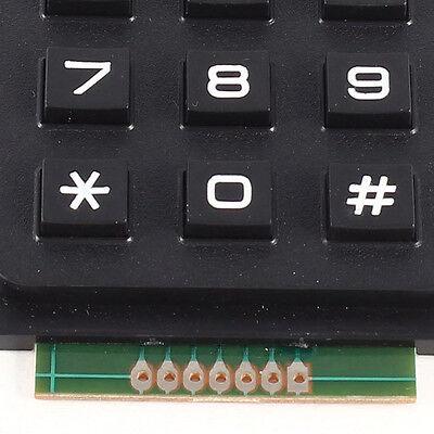 3x4 Matrix 12 Keyboard Keypad Use Keys Pic Avr Stamp 69 X 51 X 10mm Lw