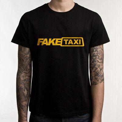 Fake Taxi T Shirt High Quality Mens T Shirt 100  Cotton Black Faketaxi Tshirt