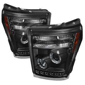 Ford F250 F350 F450 SuperDuty 2011+ Projector HEADLIGHT HALO LED