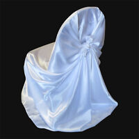 white universal chair covers--for rent $2.50 each