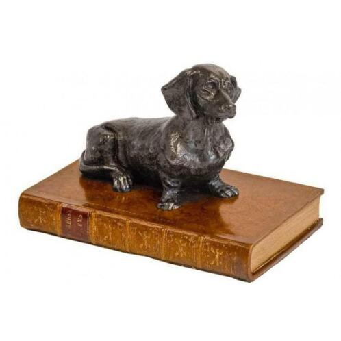 Paper Weight Dachshund Book