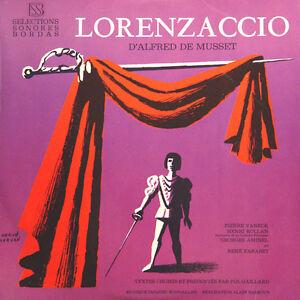 LORENZACCIO-Alfred-De-Musset-P-Vaneck-H-Rollan-R-Farabet-FR-Press-SSB-102-LP