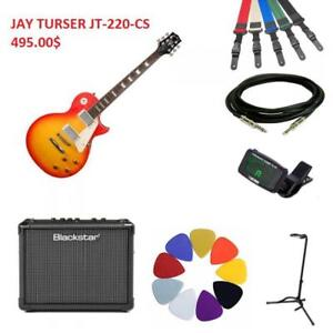 BIG SALE ON ELECTRIC GUITAR BUNDLES! ALL-IN-ONE BRAND NEW GUITAR BUNDLES STARTING AT 495.00$!!