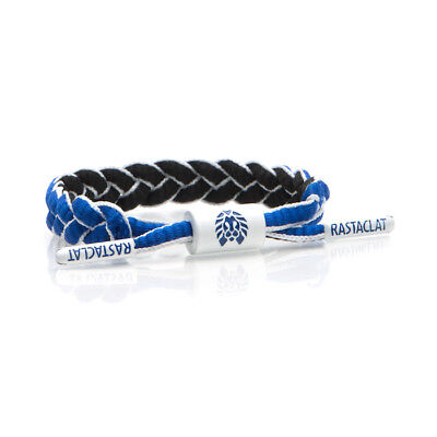 Brand New RASTACLAT Palau Blue Mini Braided Shoelace Bracelet