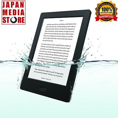 """KOBO AURA H2O Waterproof eReader Wi-Fi 4 GB 6.8"""" Black 100% Genuine from Japan"""