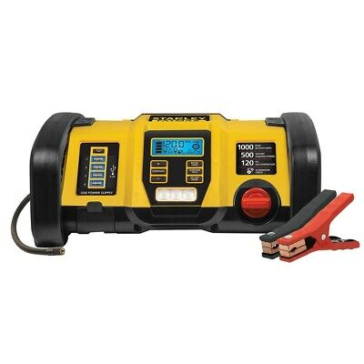 Stanley Fatmax 1000 Peak Amp Power Station with LED Worklight - Yellow