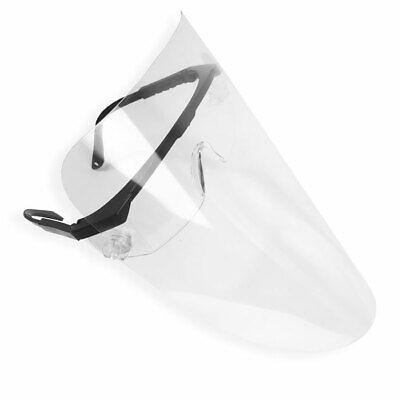 Schutzvisier, Gesichtsschild mit Brillengestell, Shield, Schutzbrille