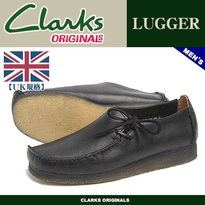 Clarks Originals Men ** Wallabees Lugger , L-Stich , BlacK * UK 7,8,9,10,11,12 G 1