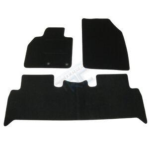 3 tapis sol moquette noir sur mesure renault scenic 3 iii bose business initiale ebay
