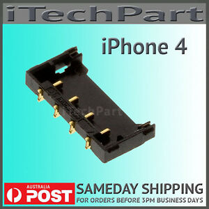 Battery Clip Connector Terminal Logic Board FPC Replacement Part For iPhone 4
