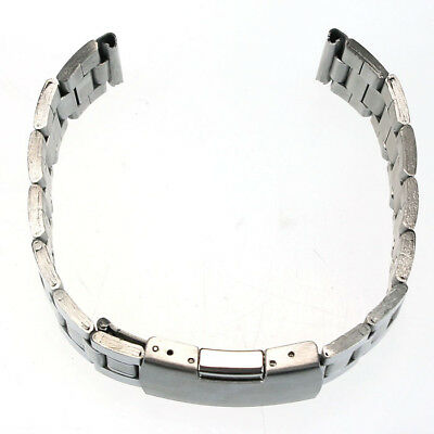 Modern Männer Frauen Edelstahl Uhrenarmband Straight End Armband Links 20mm/22mm