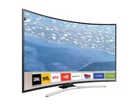 """Samsung 49"""" Curved Tv 📺 smart 4K ultra HD warranty free delivery 📦"""