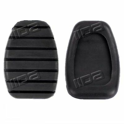 Pair of 2 rubber brake and clutch pedals cover replacement for R E N A U L T CAPTUR CLIO ESPACE FLUENCE KANGOO LAGUNA MEGANE MODUS SCENIC THALIA TRAFIC 8200183752