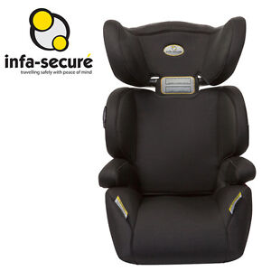 Brand New Infa Secure Vario Kid Child Booster Seat - Charcoal