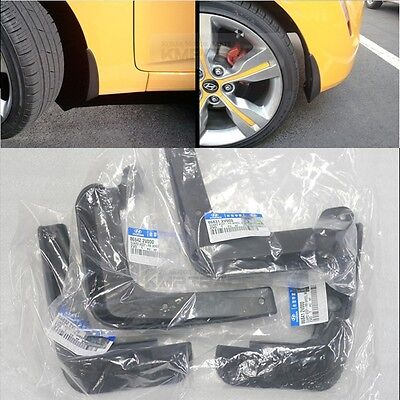 OEM Genuine Parts Front & Rear Mud Guard (4PCS) for HYUNDAI 2011 - 2016 Veloster