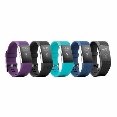 Fitbit Charge 2 Heart Rate Monitor Fitness Tracker Wristband   All Colors