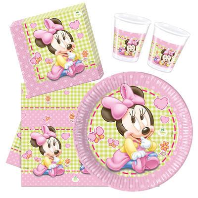 Minnie Maus Party Dekoration und Zubehör, ideal für Kleinkinder, große Auswahl ()