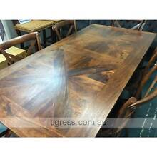 Chelmsford Parquetry Solid Hardwood Timber Dining Table 180x90 Castle Hill The Hills District Preview