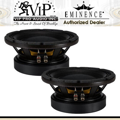 "2x Eminence KAPPA PRO-10LF 10"" 1200W PA Replacement Speaker Low Frequency Woofer"